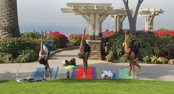 Yoga in the Park & Massage Therapy