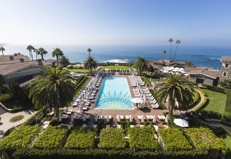 Beachfront & Oceanfront Laguna Beach Hotels