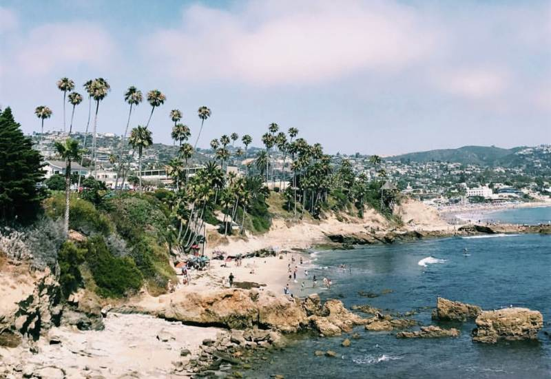 Take Your Honeymoon In Laguna Beach California