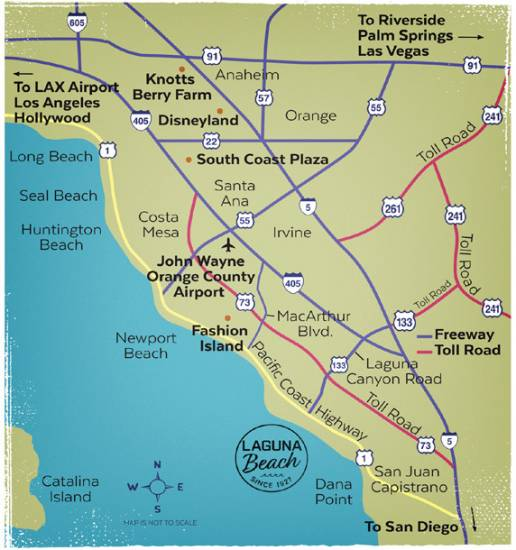 Laguna Beach Directions and Maps | Visit Laguna Beach