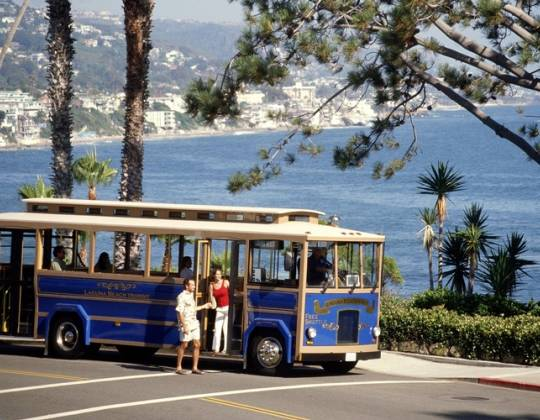 Free Laguna Beach Summer Trolley