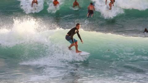 Laguna Beach Surfing